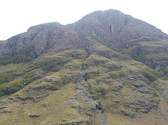 Glen Coe - Ossian's Cave (upper right)
