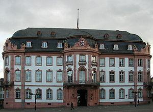 Johann Friedrich Karl von Ostein - Osteiner Hof on Schillerplatz in Mainz