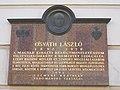 Osváth László emléktábla. - Országház utca 28, 2016 Budapest.jpg