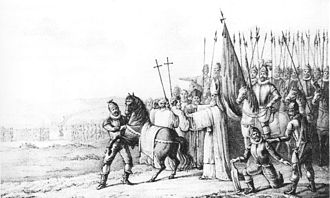 Otto II of Lippe - Otto II of Lippe curses Rudolf of Coevorden.