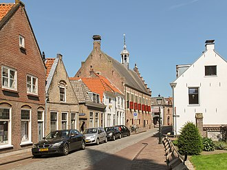Oudewater - Former townhall in 2013