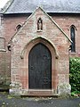 Our Lady and St Wilfred Church, Warwick Bridge, Porch - geograph.org.uk - 935463.jpg