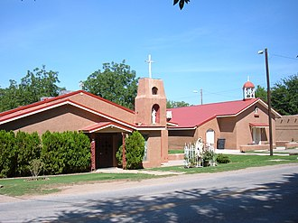La Luz, New Mexico - Our Lady of the Light Church