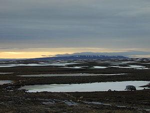 Ovayok Territorial Park - Looking north towards Ovayok