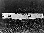Overhead view of USS Princeton (CV-37) underway off the Philadelphia Naval Shipyard on 11 April 1946 (NNAM.1996.488.060.001).jpg
