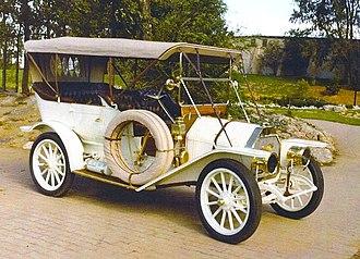 Overland Automobile - Overland 42 (1910)
