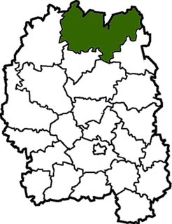 Ovruch Raion Former subdivision of Zhytomyr Oblast, Ukraine