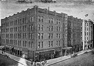 Oxford Hotel (Denver, Colorado) - Oxford Hotel, 1921