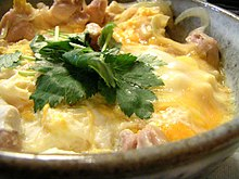 Oyakodon - Wikipedia, the free encyclopedia