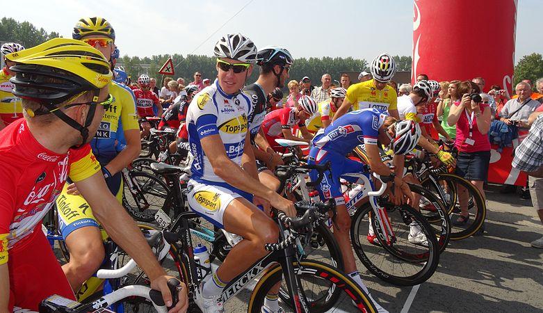 Péronnes-lez-Antoing (Antoing) - Tour de Wallonie, étape 2, 27 juillet 2014, départ (D16).JPG