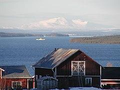 Storsøen, med Åreskuden i baggrunden, set fra Orrviken.