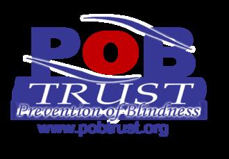 Prevention of Blindness Trust - Image: POB Trust Logo