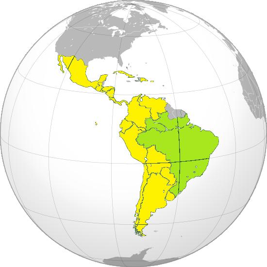 Países de Iberoamérica