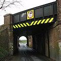 Pack Lane railway bridge - geograph.org.uk - 145896.jpg