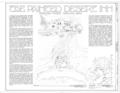 Painted Desert Inn, Navajo, Apache County, AZ HABS ARIZ,1-NAVA.V,1- (sheet 1 of 12).png