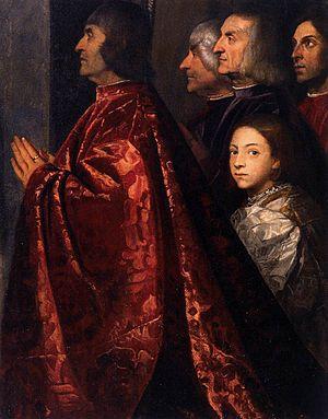 Pesaro Madonna - Image: Pala pesaro 03