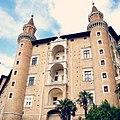 Palazzo Ducale, facciata dei Torricini.jpg