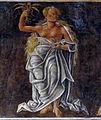 Palazzo schifanoia, salone dei mesi, 08 agosto (maestro dell'agosto o gherardo da vicenza), vergine 01.JPG