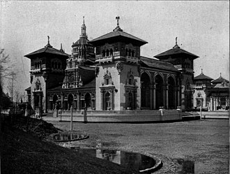 Robert Swain Peabody - Mines Building, at the Pan-American Exposition, designed by Peabody