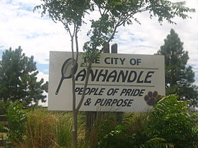 Panhandle sign IMG 0631.JPG