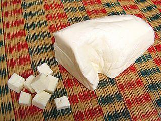 Paneer Indian cheese