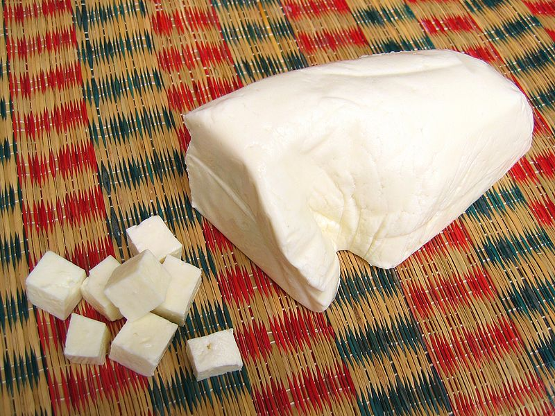 File:Panir Paneer Indian cheese fresh.jpg - Wikimedia Commons