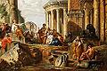 Pannini - Caprice architectural avec prédicateur dans des ruines romaines 04.jpg
