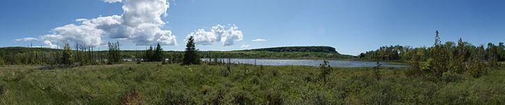 La réserve naturelle provinciale Cabot Head dans la péninsule de Bruce