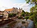 Panorama 1 sur le château de Verteuil sur Charente avec moulin au 1er plan.jpg