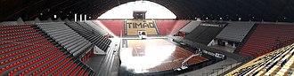 Sport Club Corinthians Paulista (basketball) - Image: Panorama do Ginásio Wlamir Marques
