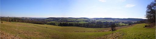 Panorama heuvelland Maurice van Bruggen
