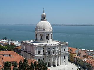 Church of Santa Engrácia church in Lisbon