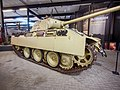 Panzer V Ausf.G Panther of the German 107th Panzer Brigade at the Overloon War Museum, was knocked out by the 2nd Battallion, East Yorkshire Regiment, on 13 October 1944 at Overloon foto3.jpg