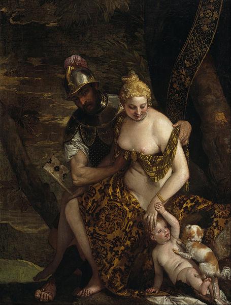 File:Paolo Veronese (Caliari) - Mars, Venus and Cupid - Google Art Project.jpg