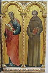 St. John the Evangelist and St. Anthony of Padua