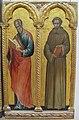 Paolo veneziano, madonna col bambino e santi, 1354, 04.JPG