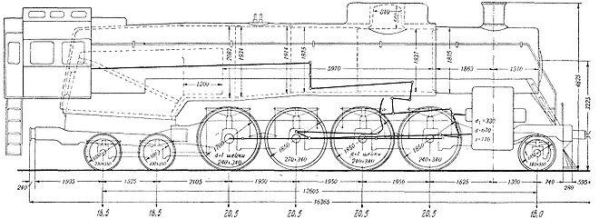 для паровозов 1936—1941
