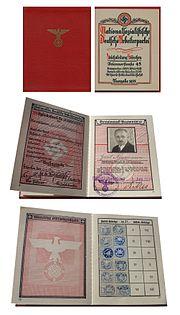 Parteibuch der NSDAP