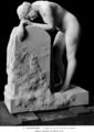 Paul-Albert Bartholomé (1848-1928) - Femme appuyée sur une stèle (1914) (21138982234).png