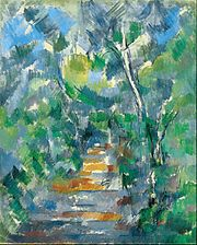 Paul Cézanne - Forest Scene (Path from Mas Jolie to Château noir) - Google Art Project.jpg