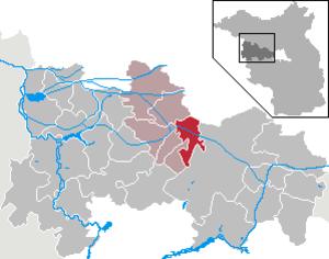 Paulinenaue - Image: Paulinenaue in HVL
