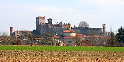 Skyline of Pavone Canavese