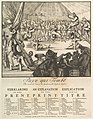 Paye qui Tombe- Die eerst valt betaelt de Speelman, die laest, de Kosten (The Fall of the Country- The First That Falls Pays the Player, the Last the Costs) MET DP824605.jpg