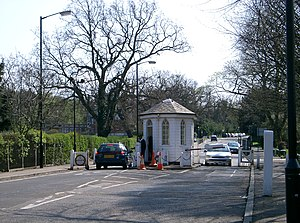 Sydenham Hill - Paying the toll at the College Road, SE21 tollgate, which dates back to 1789.