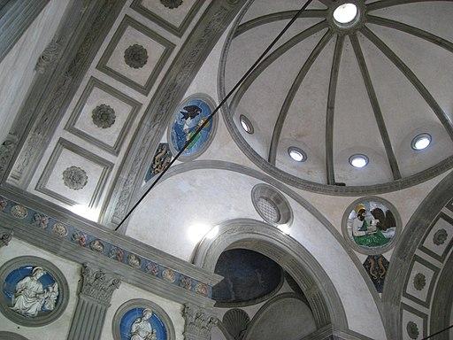Capella Pazzi, interior