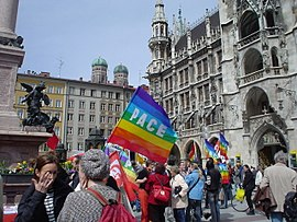 Марш за мир, Мюнхен, 15 апреля 2006 года