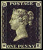 Die One Penny Black