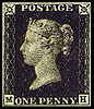 Penny Black postage stamp