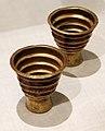 Perù, inca, bicchieri scanalati, 1450-1532 ca.jpg