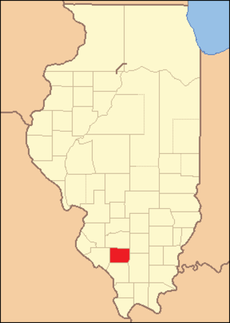 Perry County, Illinois - Image: Perry County Illinois 1827